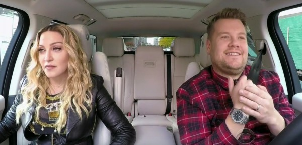 Madonna al Carpool Karaoke