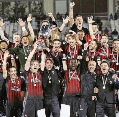 Milan vince a Doha la supercoppa italiana 2016