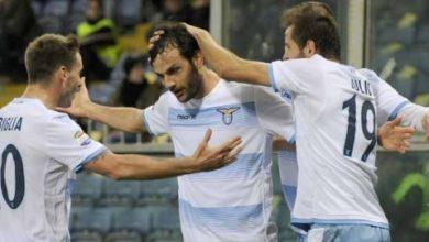 Parolo con Biglia e Lulic in Sampdoria Lazio 1 2 dicembre 2016