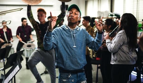 Pharrell Williams in foto.