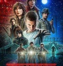 La locandina di Stranger Things