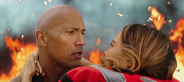 The Rock nel film Baywatch.