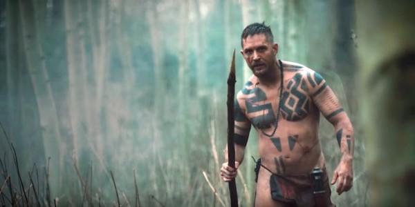 Tom Hardy nella serie tv Taboo