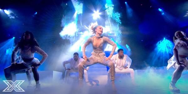 Zara Larsson ad X Factor UK dicembre 2016