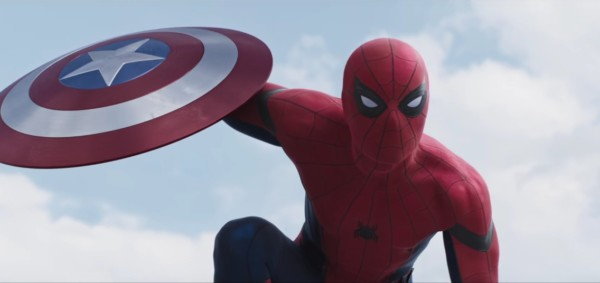 immagine dal primo trailer per Spider-Man: Homecoming.