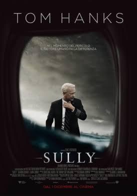 La locandina del film Sully - migliori film del 2016 - favoriti Oscar 2017