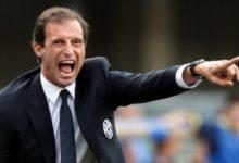 Allegri, il coach dela Juventus.
