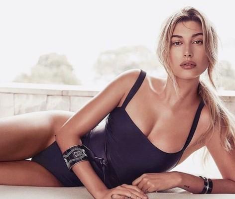 La modella Hailey Baldwin
