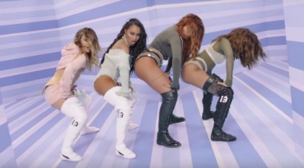 Le Little Mix nel video di Touch.