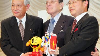 Nakamura, il padre di Pac-Man.