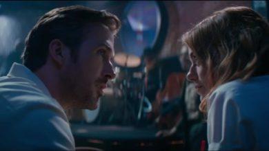 Ryan Gosling ed Emma Stone in La La Land - La La Land recensione musical