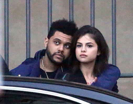 Selena Gomez e The Weeknd a Firenze nel gennaio 2017.