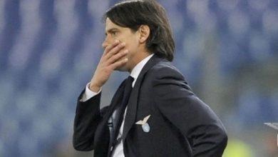Simone Inzaghi preoccupato alla guida della Lazio.