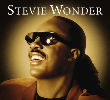 Un poster di Stevie Wonder.