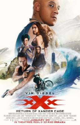 recensione xXx Il Ritorno di Xander Cage - Locandina Film