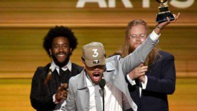 Chance The Rapper ai Grammy 2017
