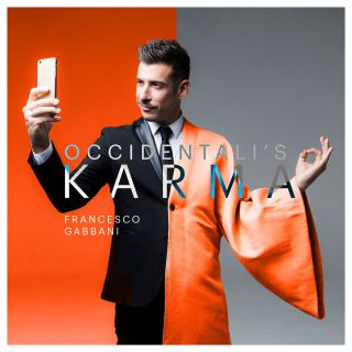 Francesco Gabbani con Occidentali's Karma.