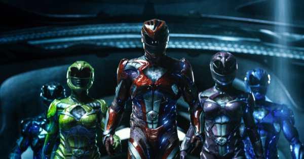 Power Rangers film 2017.