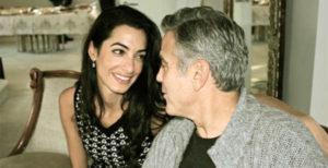 George Clooney padre di 2 gemelli in età adulta