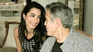 George Clooney e la moglie Amal Alamuddin aspettano due gemelli.