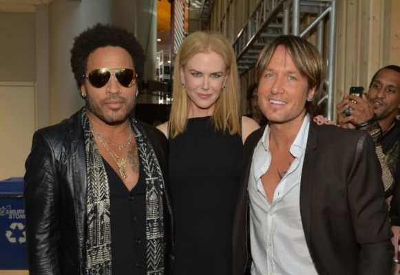 Nicole Kidman fidanzata con Lenny Kravitz