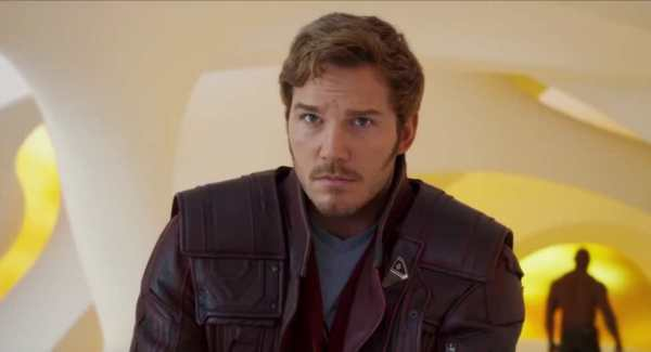 Chris Pratt in Guardiani della Galassia 2