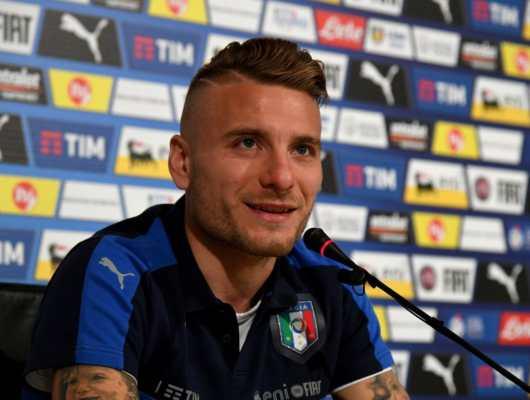 Ciro Immobile parla della sua intesa con Belotti nel pre Italia Albania
