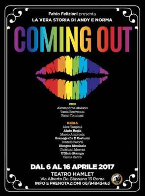 Coming Out commedia teatrale Teatro Hamlet
