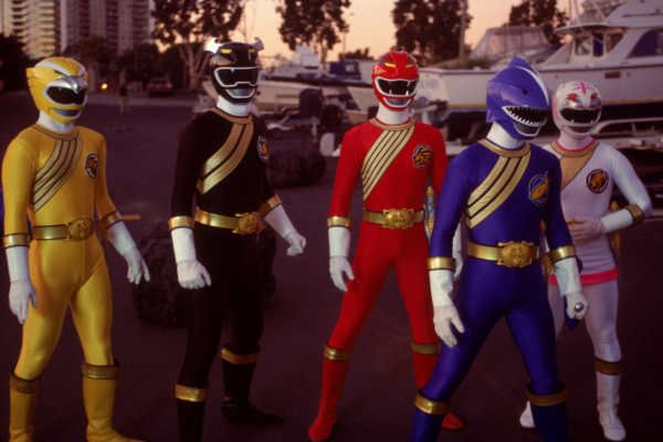 Power Rangers nella serie wild force