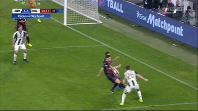 Juve Milan 2 1 Dybala rigore dubbio ultimo secondo