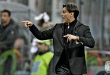Montella in Milan Genoa 1 0 Mati Fernandez.