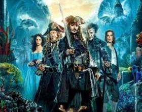 Poster internazionale del film Pirati dei Caraibi: La vendetta di Salazar.