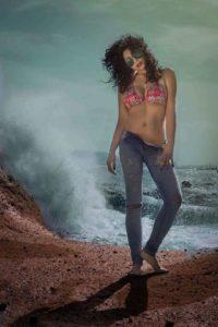 Laura Garau, giovane modella sarda.