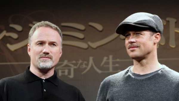 David Fincher e Brad Pitt.