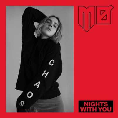 "La cover del singolo di MØ ""Nights With You""."