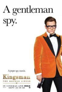 Taron Egerton in Kingsman - il cerchio d'oro Recensione