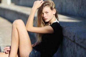 ragazze più belle e interessanti in Italia - modella Dior