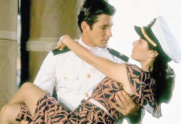 ufficiale e gentiluomo - coppie più belle della storia del cinema
