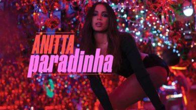 Anitta nel video di Paradinha.