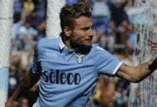 Ciro Immobile in Lazio Sampdoria 7 a 1.