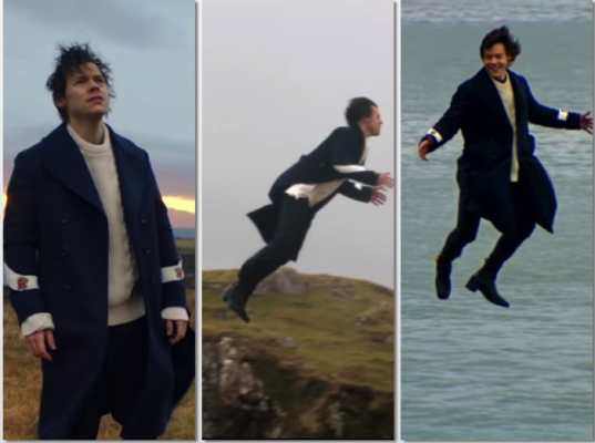 Harry Styles vola video Sign Of The Times