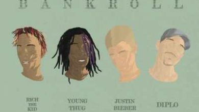 Justin Bieber rap canzone Bank Roll