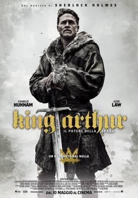Recensione King Arthur – Il potere della spada - locandina film