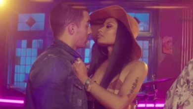 Nicki Minaj prova a baciare Joe Jonas nel video di Kissing Strangers.