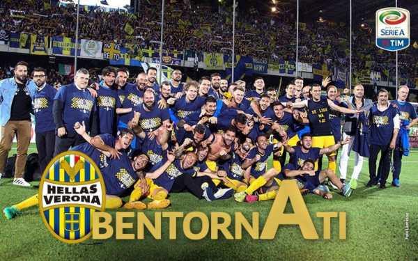 Verdetti stagione Serie B 2016/17 - Verona