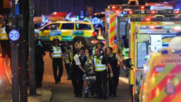Attacco terroristico Londra 3 giugno 2017.