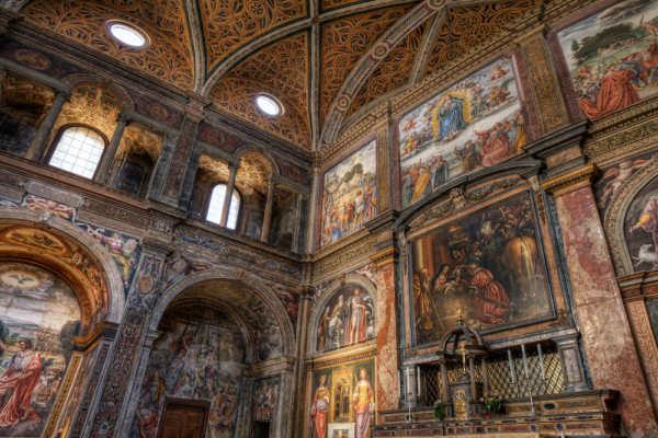 Chiesa di San Maurizio Monastero Maggiore Milano - Milano luoghi nascosti