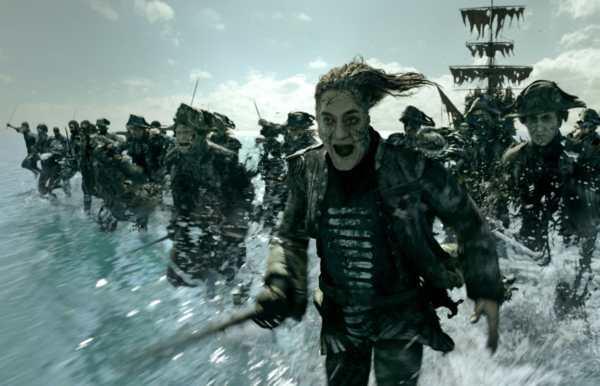 Javier Bardem in Pirati dei Caraibi La vendetta di Salazar recensione.