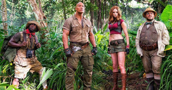 Jumanji: Welcome to the Jungle trailer ufficiale