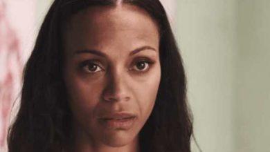 Zoe Zaldana nel video per Free Me di Sia HIV